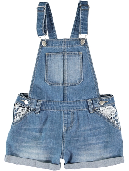 Girl Denim Shortall