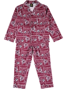 Youth Nrl Flannel Pjs