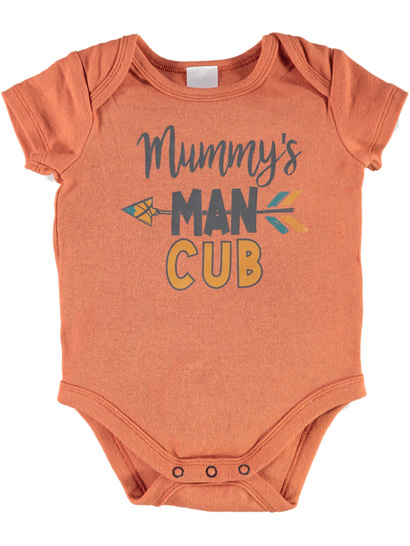 Baby Short Sleeve Print Bodysuit