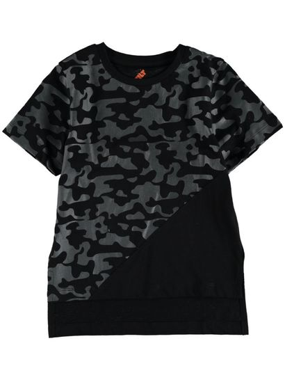 Toddler Boys Camo Cut And Sew Tee