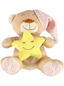 Sleeping Teddy Girl Plush