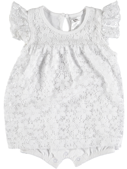 Baby Lace Romper Dress