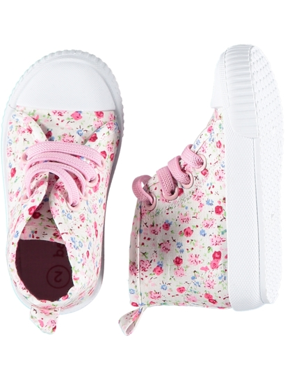 Baby Girl Disty High Top Shoe