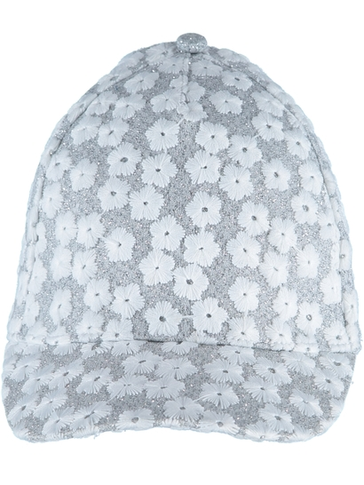 Girls Lurex Daisy Cap