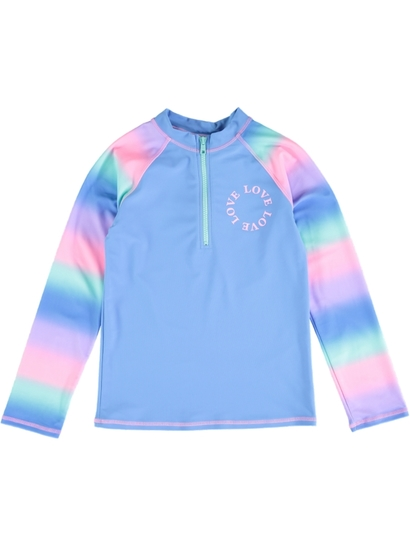Girls Long Sleeve Zip Rashi