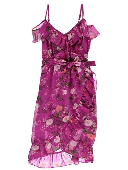Girls Wrap Dress
