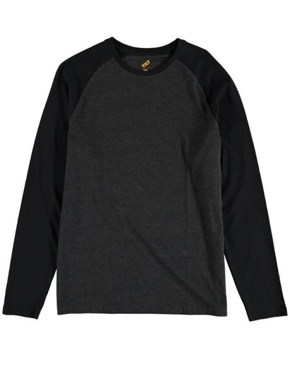 Boys Long Sleeve Baseball Tee