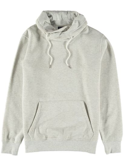 Mens Cowl Neck Pullover Fleece Top