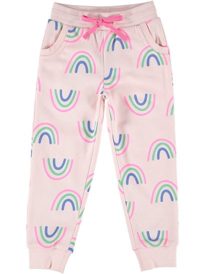 Toddler Girls Floral Trackpant