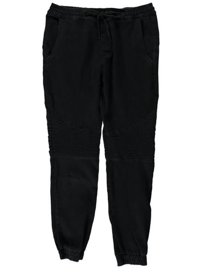 Mens Biker Denim Jogger