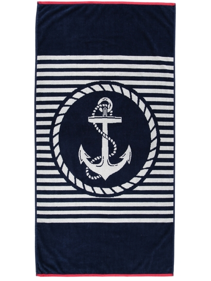 Printed Velour Beach Towel