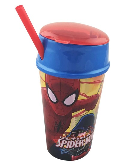Spiderman Sip And Snack