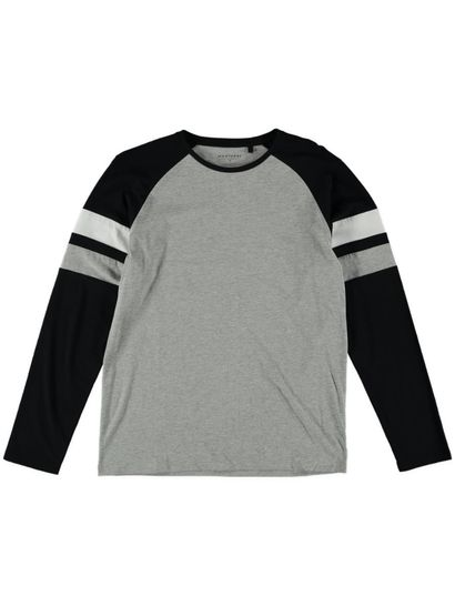 Mens Long Sleeve Fashion Tee