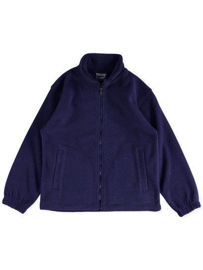 NAVY BLUE KIDS POLAR FLEECE JACKET
