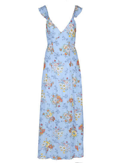 Miss Mango Floral Maxi Dress