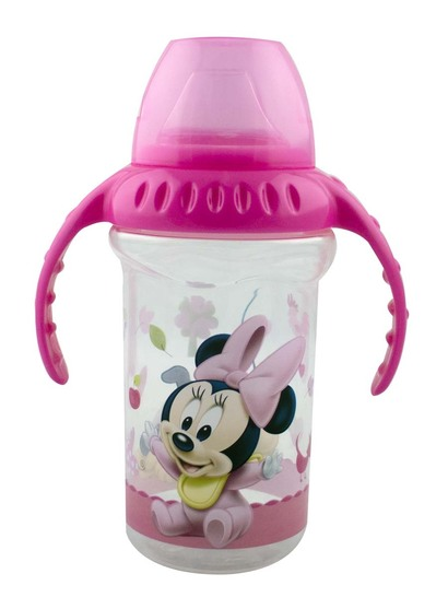 Minnie Mouse Silicone Sipper 330Ml