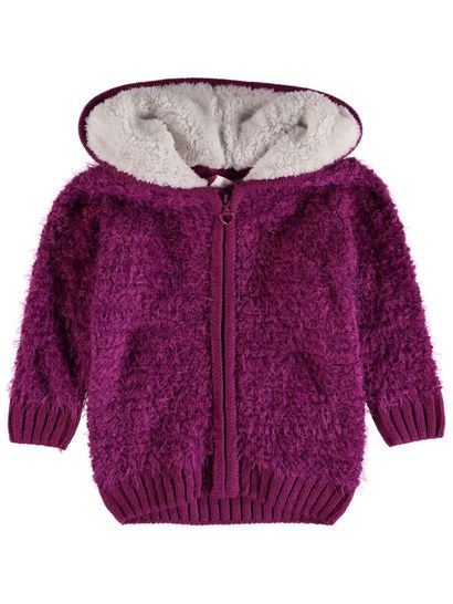 Toddler Girls Hooded Cardigan