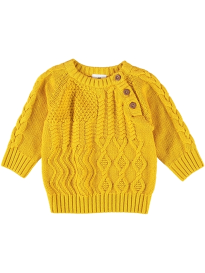 Baby Cable Knit Pullover