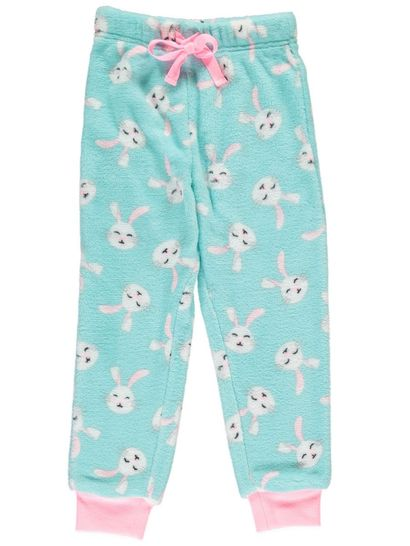Girls Coral Fleece Pants