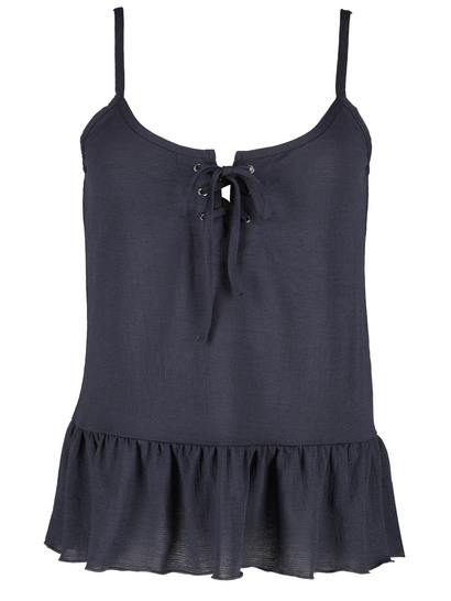 Plus Peplum Hem Cami Womens