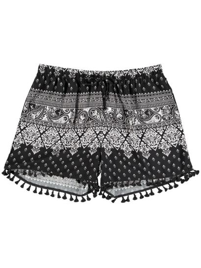 Womens Tassle Short