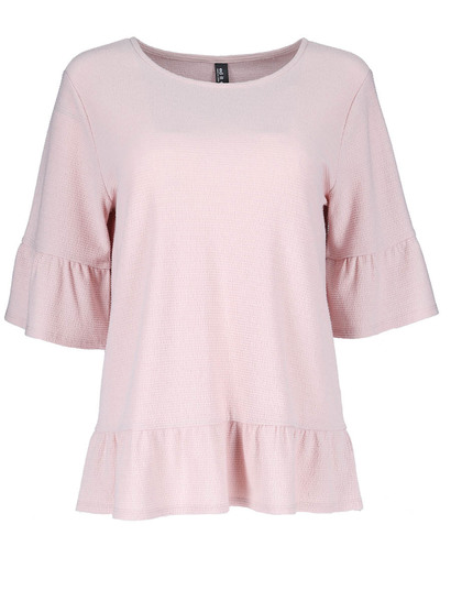 Peplum Top Womens