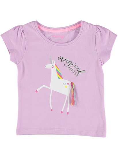 Toddler Girls Fashion Tee 3D