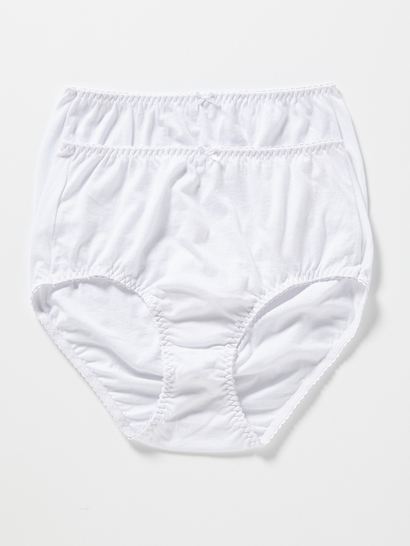 COTTON JERSEY 2PK FULL BRIEF WOMENS