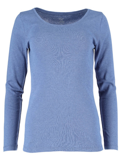 Womens Plus Organic Cotton Blend Top