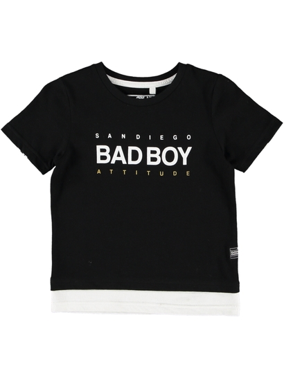 Toddler Boy Bad Boy Fashion Tee