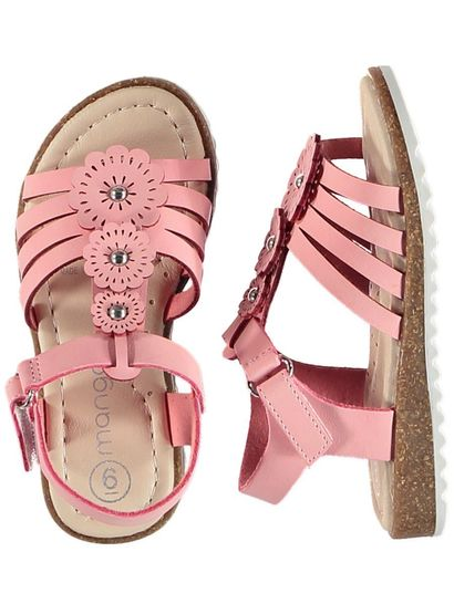 Toddler Girl Flower Walker Sandal