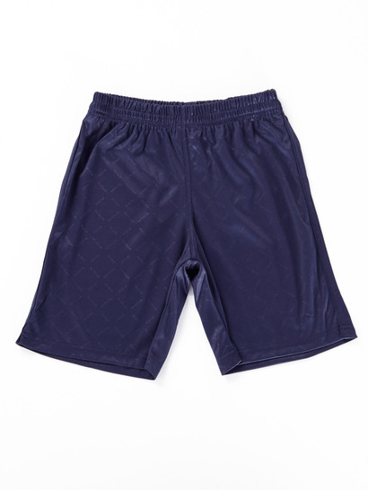 NAVY BLUE BOYS SOCCER SHORTS