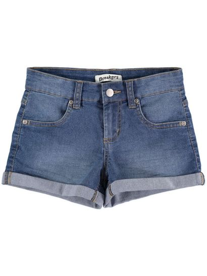 Girls Basic Denim Short