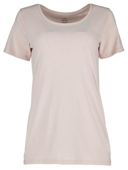 Womens Organic Cotton Scoop Neck Tee