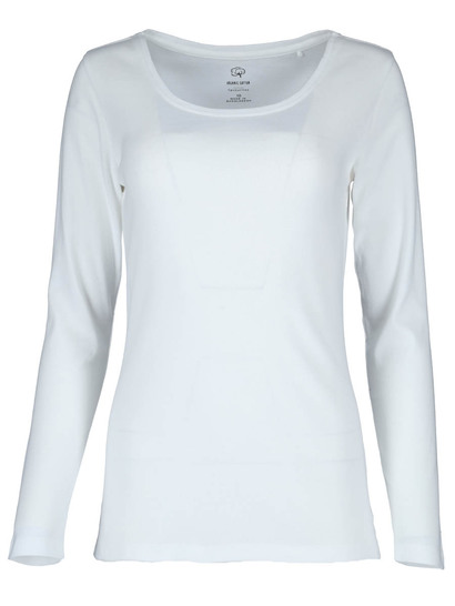Womens Plus Organic Cotton Long Sleeve