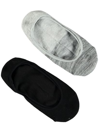 Invisible Socks 2Pk Womens