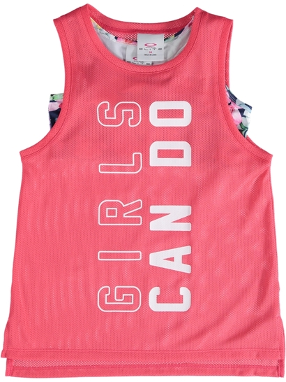 Girls Active Tank With Cropped Top