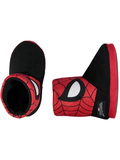 Toddler Boy Spiderman Slipper Boot
