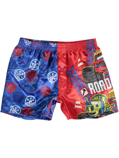 Boys Blaze Satin Boxer