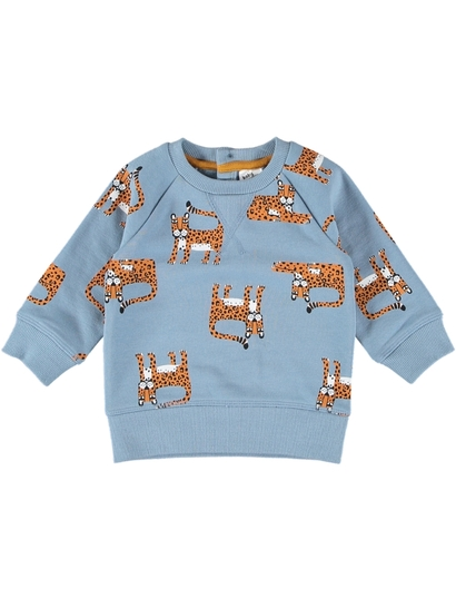 BABY PRINT FLEECE JUMPER