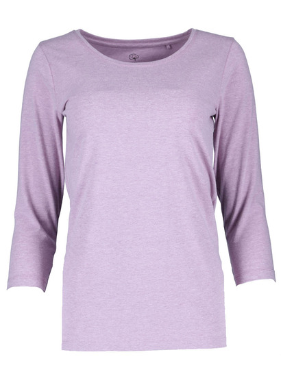 Organic Cotton Blend 3/4 Sleeve Tee Womens