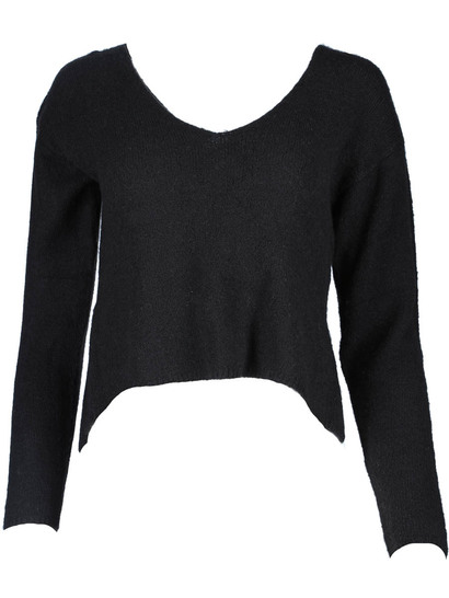Miss Mango Crop Knit Sweater