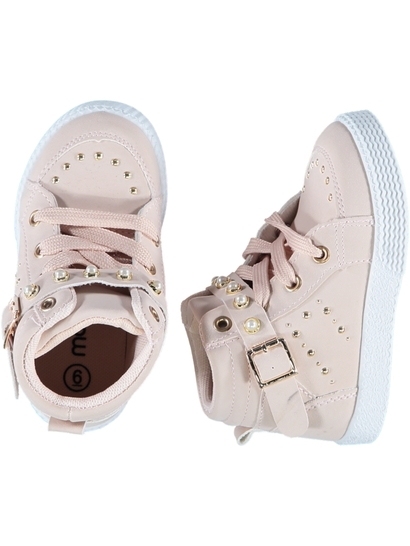 Toddler Girl Embellished High Top