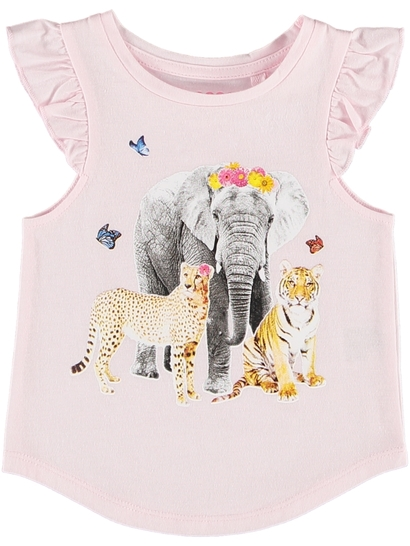 Toddler Girls Print Tank