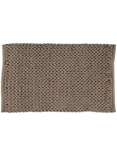 Chain Knit Bathmat