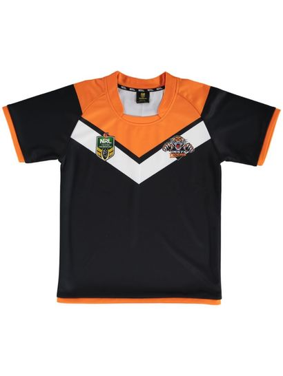 Nrl West Tigers Kids Jersey