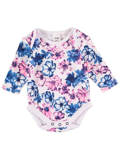 Baby bodysuits are a cute choice when introducing your newborn to the world. Multipacks offer several onesies in one package, so you can quickly build a wardrobe for your little bundle of joy. Try a pack of colorful, short-sleeved bodysuits with contrasting trim. The soft cotton fabric is comfortable for baby and easy to clean for busy parents.