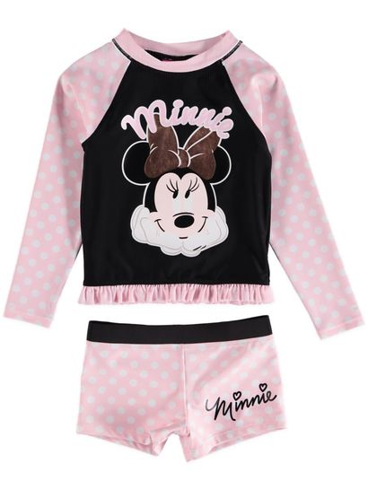 Toddler Girls Minnie Swimset