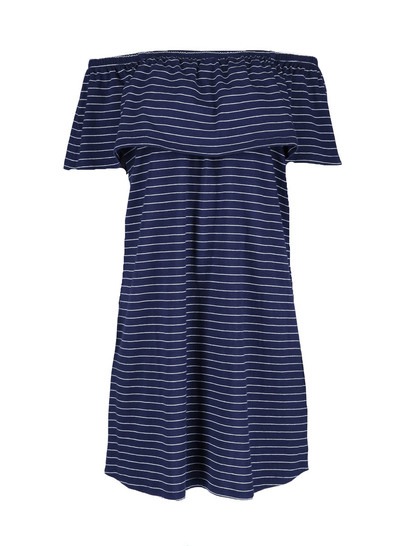 Womens Jersey Bardot Dress