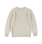 Boys Cable Knit Pullover
